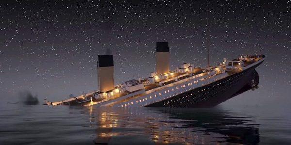 contoh factual recount - titanic