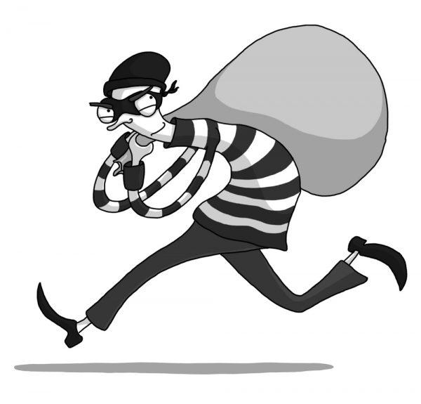 contoh recount text singkat - pencuri