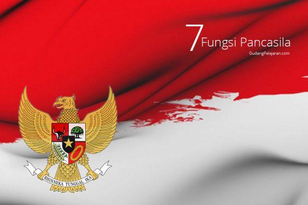 7 Fungsi Pancasila