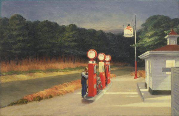 Gambar lukisan Edward Hopper