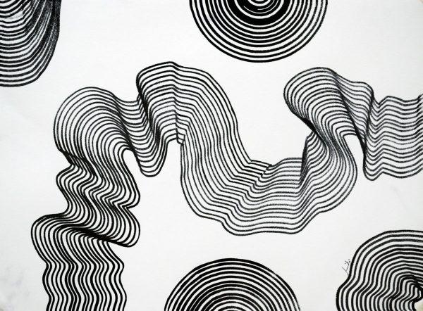 Gambar teknik linear/garis1