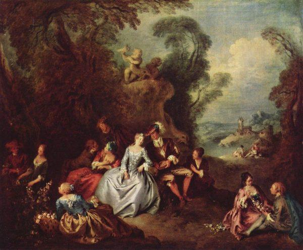 lukisan romantisme karya jean babtiste